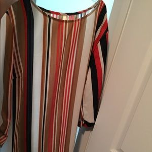 A stripe dress